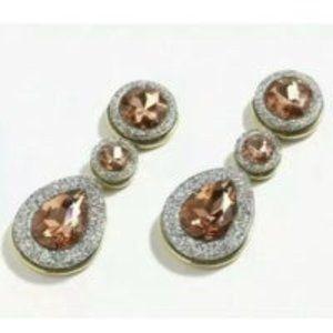 🔥 JCrew Dazzling Glitter Brûlée Earrings